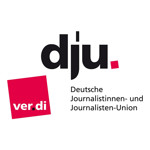 dju Deutsche Journalistinnen- und Journalisten-Union Website